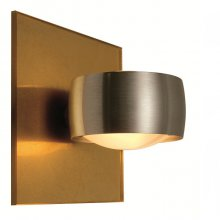 Wandleuchte Grace Unlimited, Gold matt / Aluminium
